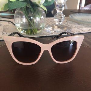 AJ Morgan Pink Cat Eye Sunglasses